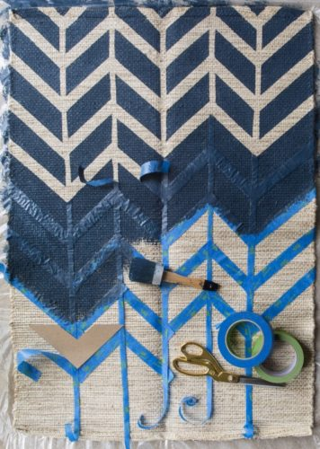 painters tape rug