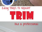 Repaint your trim like a pro