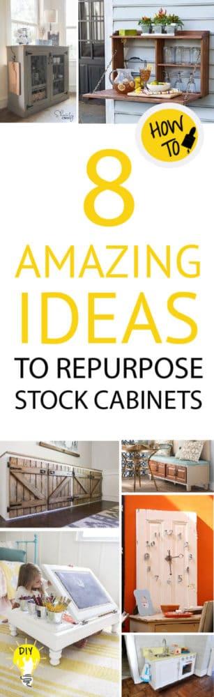 repurpose stock cabinets