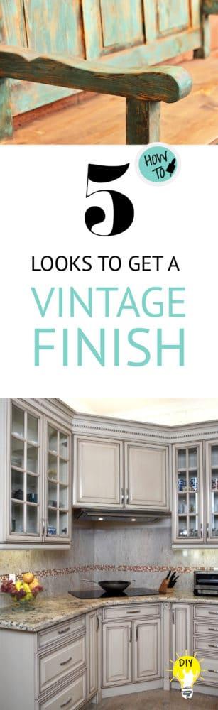 vintage finish