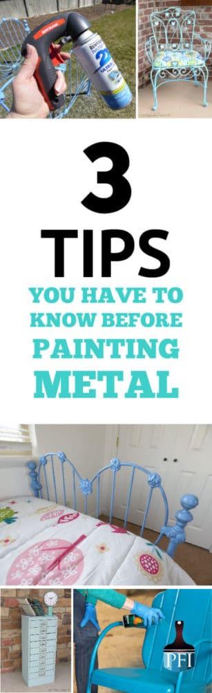 painted metal