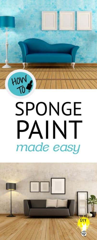 Sponge Paint Made Easy | Painted Furniture Ideas | Painted Furniture Ideas  | Bloglovin'