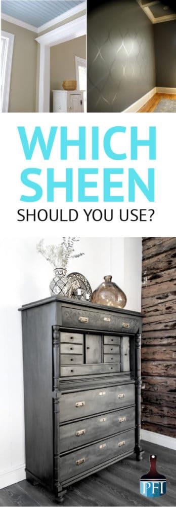 paint sheen