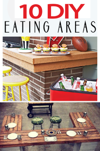 DIY eating areas for your next BBQ and summertime!