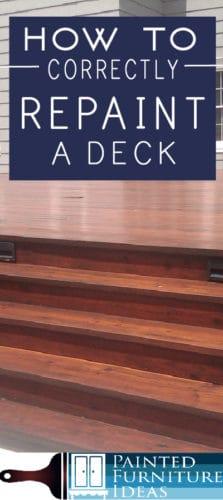 repaint deck