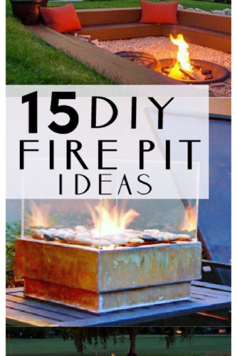 YES- DIY firepit tutorials! PAINTEDFURNITUREIDEAS.COM