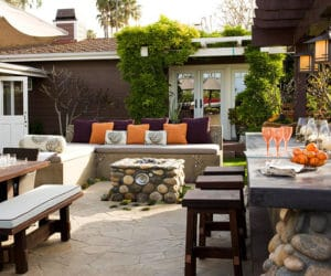 An Outdoor Eating Area Is More Than Just A Countertop Create Additional Seating Areas To Encourage Your Guests Spread Out And Relax