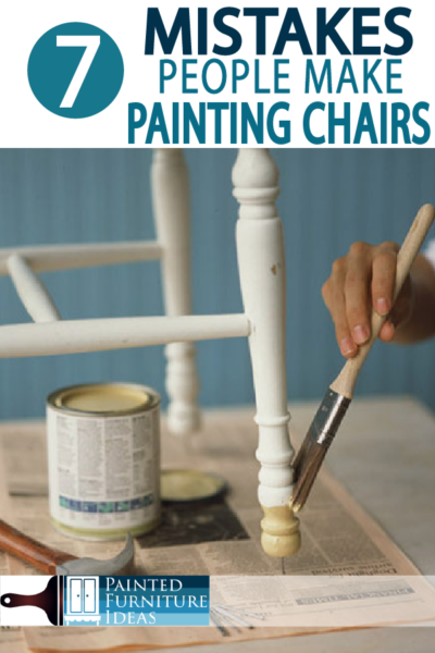 Avoid these mistakes when painting chairs for your next DIY projects