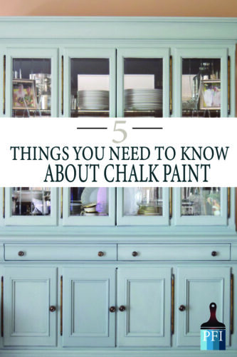 Learn what you need before you start your next diy painting project! Chalk paint can be tricky!