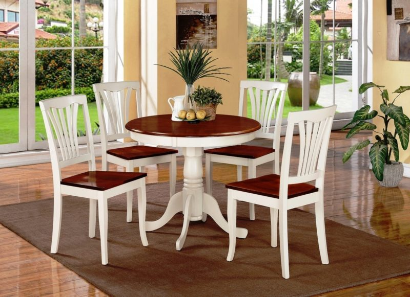 How To Spray Paint Kitchen Table And Chairs