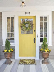 Whatever Color You Choose, Sherwin Williams Provides A Great Step By Step  Tutorial For Painting Your Front Door On Your Own And Having It Look Like A  Pro.