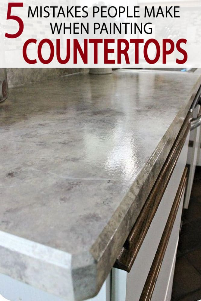Learn what from others, to know exactly what to do, and what to avoid when painting your kitchen countertops!