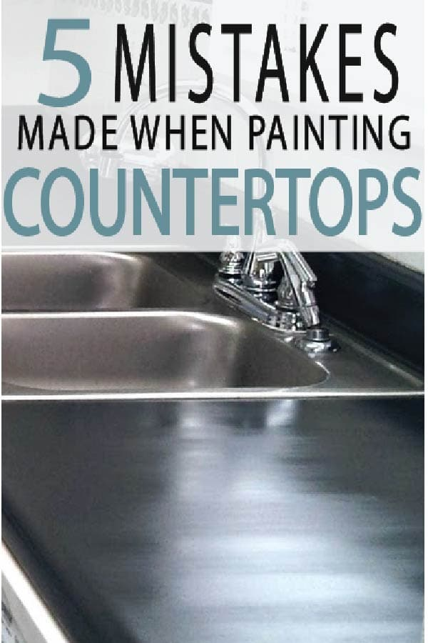 Kitchen counter tops are easy to paint, but require knowledge to get a professional finish.  Learn more here!
