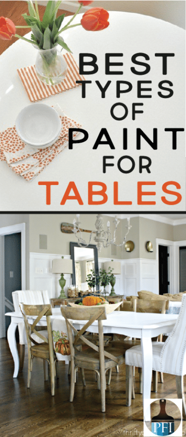 paint tables