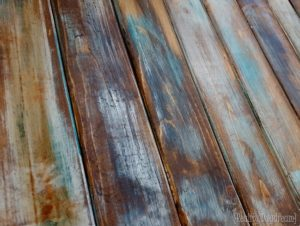 Painted Furniture Ideas How To Paint A Weathered Wood