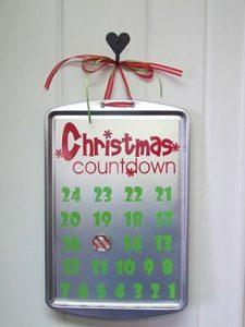 christmas countdown - Christmas Countdown Ideas
