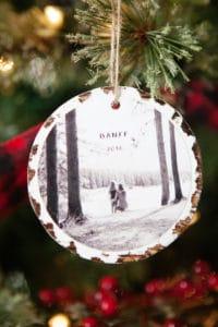 ornament photo wood