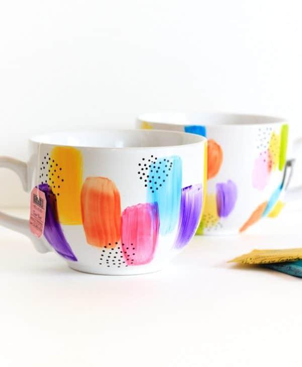 painted mug gift