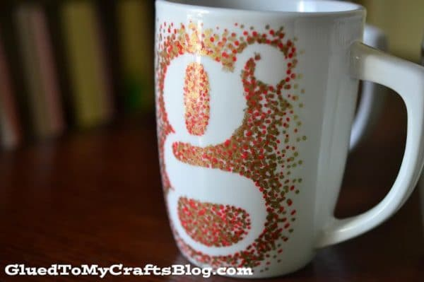painted mug DIY