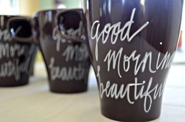 personal mugs DIY
