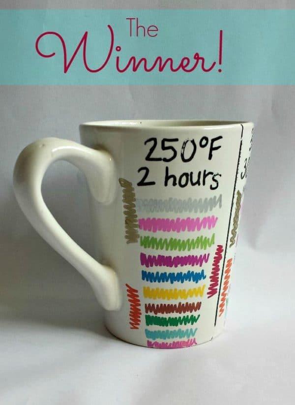 baking mug paint