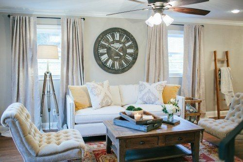 family room Farmhouse paint colors