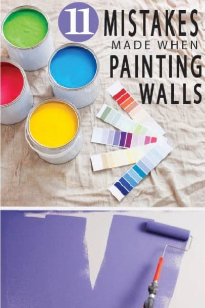 Painting Wall techniques, and tips for your DIY home improvement! Learn from others mistakes to get a professional finish in your home.