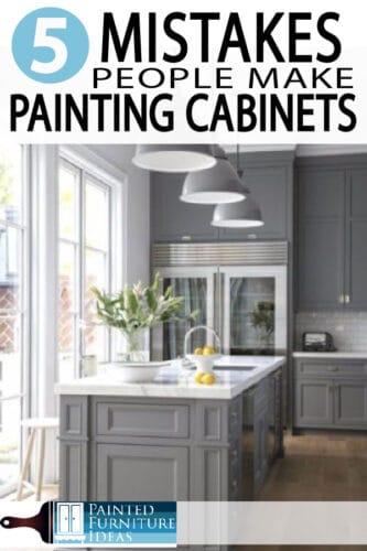 Painted Furniture Ideas | 5 Mistakes People Make When Painting ...