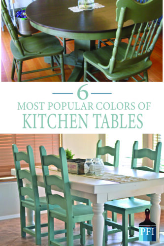 6 Beautiful Table colors to inspire your next DIY project!