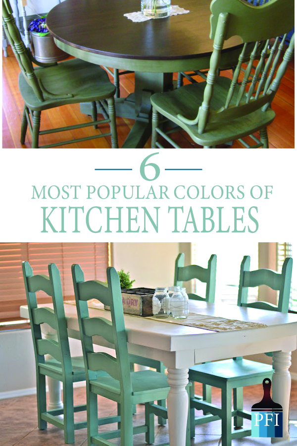 Painted Furniture Ideas 6 Great Paint Colors For Kitchen Tables Painted Furniture Ideas