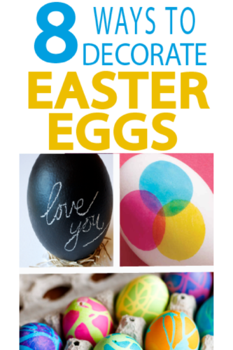 Check out these fun ways to paint Easter eggs this year!