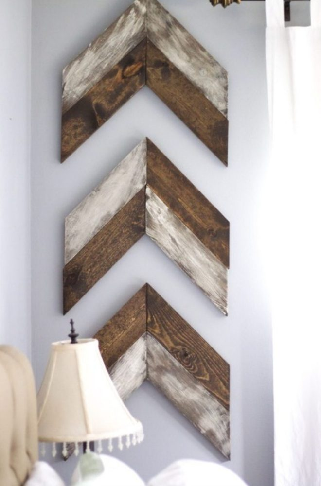 rustic arrow decor