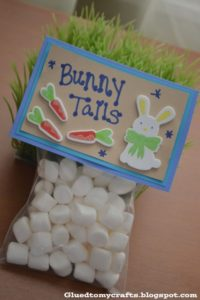 10 adorable easter gift ideas painted furniture ideas class party no problem bunny tails couldnt be easier and cheaper to put together just a few bags labels and a bag of mini marshmallows negle Choice Image
