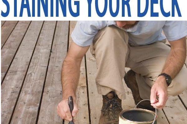 Stain your deck the correct way. learn how here!