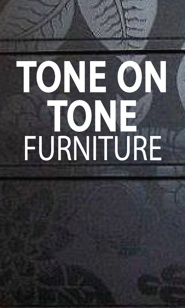 One of my all-time favorite furniture details is tone on tone. This look is so elegant and sophisticated it works with most rooms and styles. Get inspired with these great looking DIY projects! PAINTEDFURNITUREIDEAS.COM