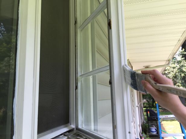 DIY outdoor paint home