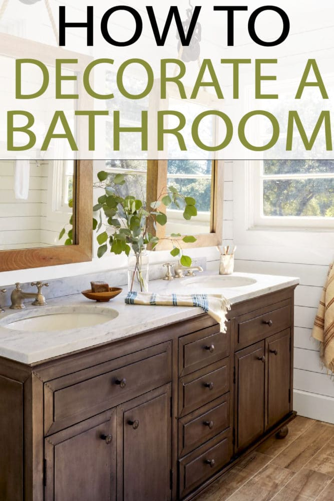 Check out these great tips to upgrade your bathroom with new decor!