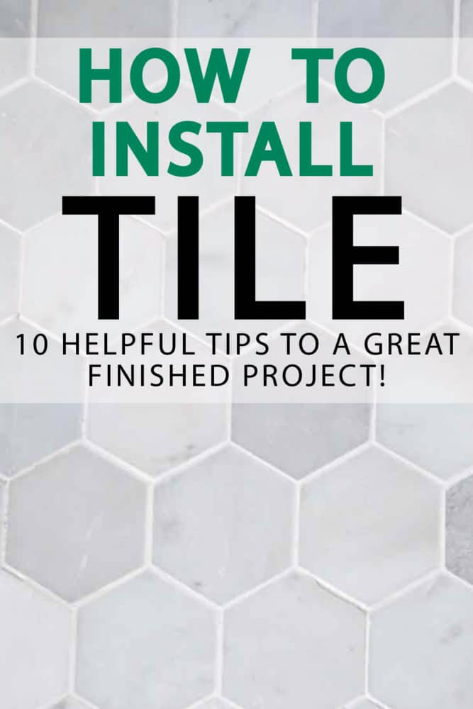 If you're looking to tile your bathroom for the first time, or just trying to upgrade your skills, we've got the 10 tips to install tile, that will make the project better and faster than ever before. paintedfurnitureideas.com