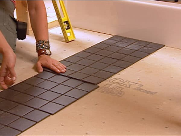 how to lay tile flooring
