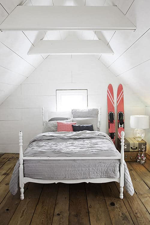 bedroom diy & 9 Attic Makeovers to Inspire your DIY Project - Painted Furniture Ideas