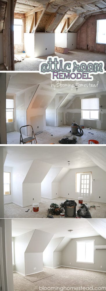 stages of creating a room