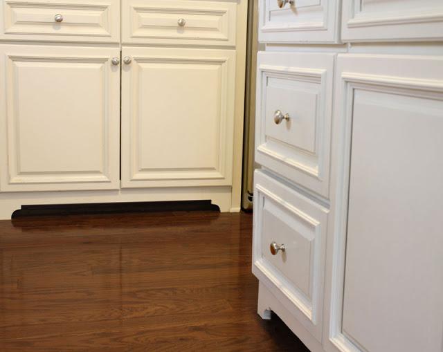 cabinet feet DIY