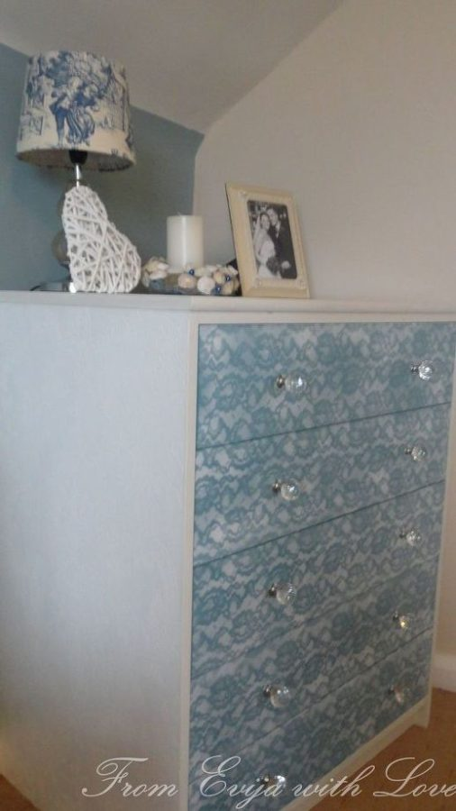 home decor dresser with good paint
