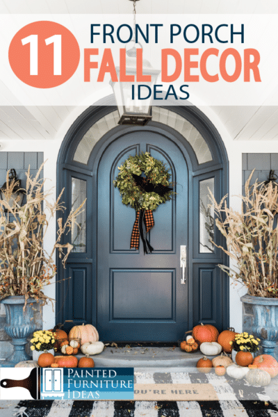 Halloween is here soon, and your front porch is the spotlight of the season! Learn how to decorate for fall this year!