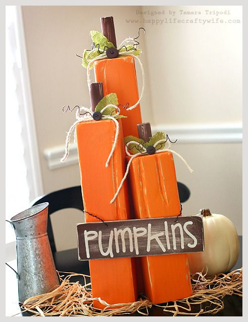 pumpkin decor easy