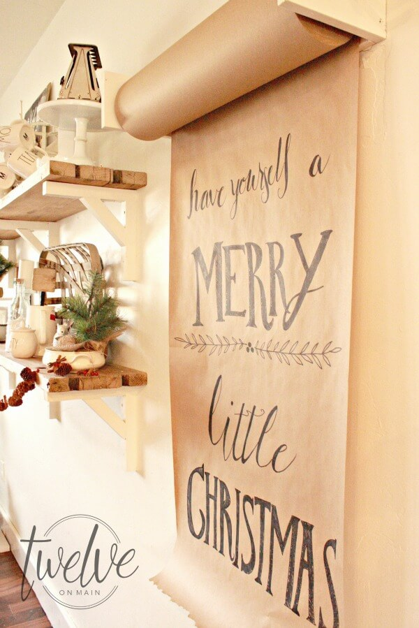 farmhouse christmas sign art wall