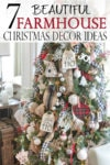 Farmhouse Christmas decor ideas make any home cozy, and full of the natural festive spirit. Learn what elements are needed to achieve this holiday home decor look.