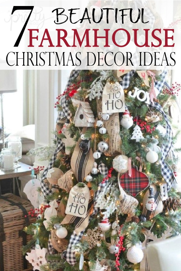 farmhouse christmas decor ideas make any home cozy and full of the natural festive spirit