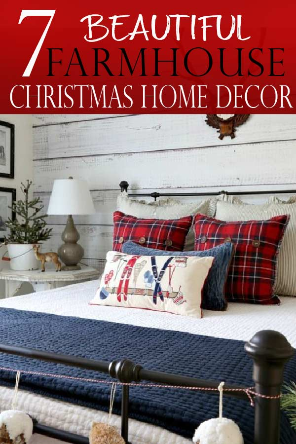 Farmhouse Christmas decor ideas make any home cozy, and full of the natural festive spirit. Learn what elements are needed to achieve this holiday home decor look