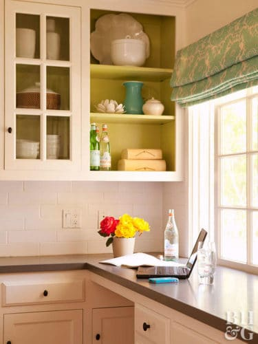 open shelving image kitchen